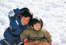 子どもは風の子! 雪遊びが出来るペンション