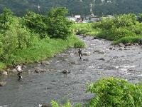 魚野川 鮎友釣り専用区至近の宿