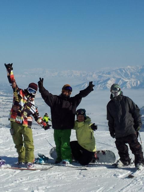 石打丸山スキー場のペンション アルバイト・居候スタッフ募集 雪山生活を応援します
